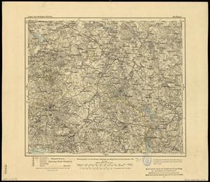 Karte des Deutschen Reichs 1:100.000 (104) Reszel in Polen [1907]