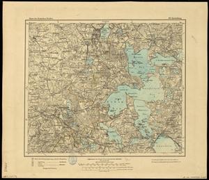 Karte des Deutschen Reichs 1:100.000 (105) Ketrzyn in Polen [1910]