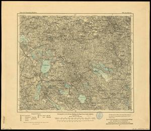 Karte des Deutschen Reichs 1:100.000 (106) Grabowo in Polen [1910]