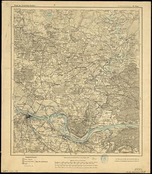 Karte des Deutschen Reichs 1:100.000 (10 & 18) Medischkehmen / Tilsit [1904]