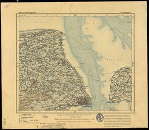 Karte des Deutschen Reichs 1:100.000 (142) Wilhelmshaven [1909]