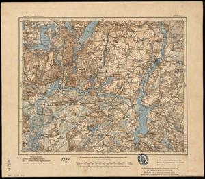 Karte des Deutschen Reichs 1:100.000 (319) Beeskow [1908]