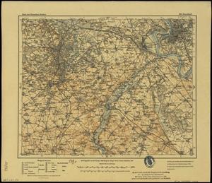 Karte des Deutschen Reichs 1:100.000 (403) Düsseldorf [1907]