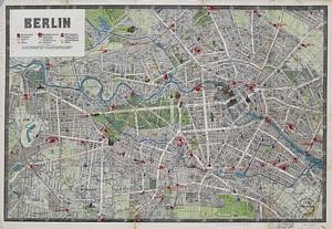 Historischer Stadtplan von Berlin (März 1905)