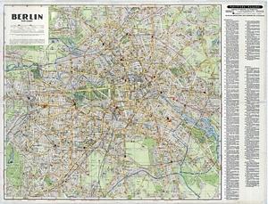 Fahrtfinder-Stadtplan Berlin [September 1937]