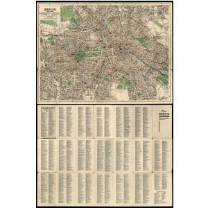 Historischer Stadtplan von Berlin - Kleine Ausgabe [~ 1933]