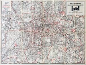 Gesamtadresswerk der NSDAP-Geschäftsstellen - Stadtplan von Berlin (1938)