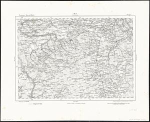 Reymann´s Special-Karte Nr.98A Grójec (~ 1860) 1:200.000