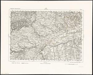 Reymann´s Special-Karte Nr.256 Ulm (~ 1860) 1:200.000