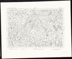 Reymann´s Special-Karte Nr.L1 Kalvarija, Litauen (Kalwarya) (1855) 1:200.000
