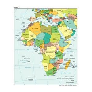 weltatlas-online.de - Afrika (Deutschsprachig, DIN-A4)