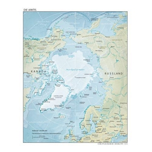 weltatlas-online.de - Arktis (Deutschsprachig, DIN-A4)