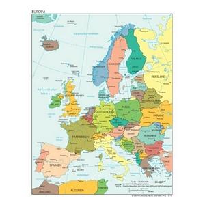 weltatlas-online.de - Europa (Deutschsprachig, DIN-A4)